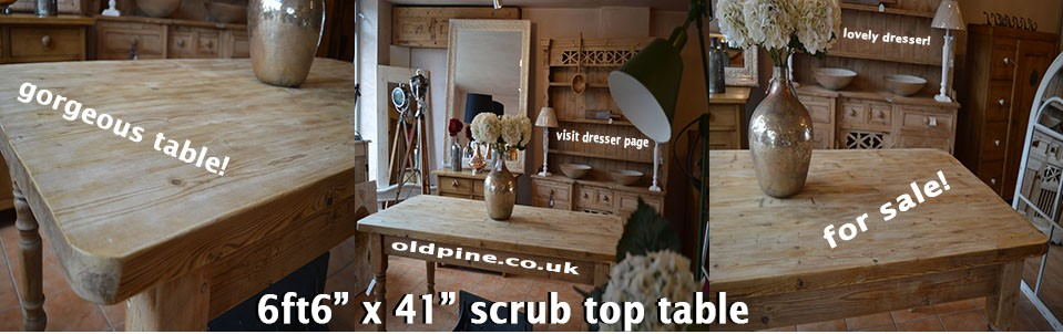 farmhouse pine kitchen dining table scrub top www oldpine co uk   suppliers of all types of old antique hand      rh   oldpine co uk